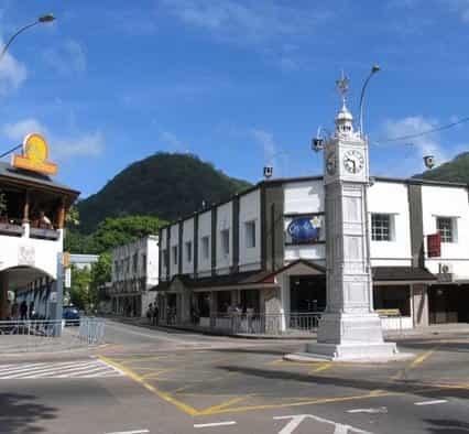Seychelles Mahe Downtown